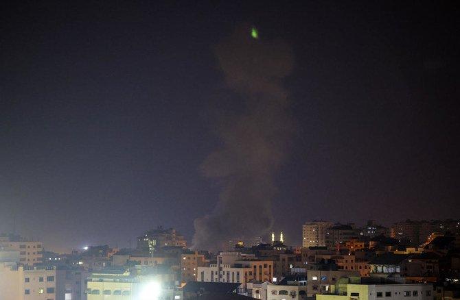 Israel Kembali menyerang Gaza setelah protes keras di sepanjang perbatasan