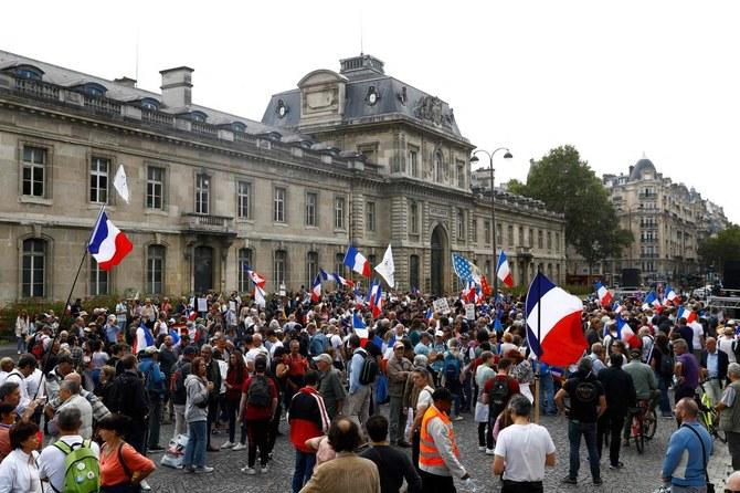 160.000 protes di Prancis menentang aturan izin kesehatan COVID-19