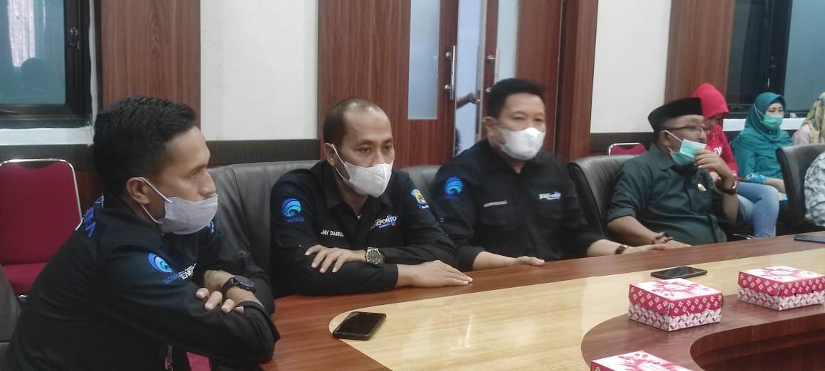 Dinas Kominfo Bersama DPRD Jeneponto Kunker Ke Dinas Kominfo Maros