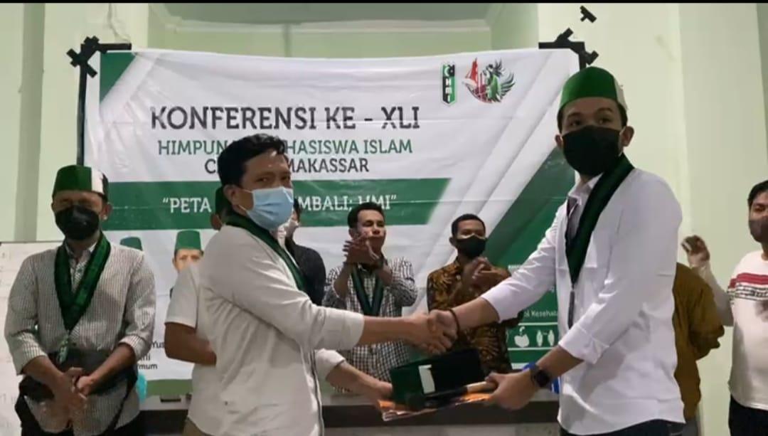 Raih 31 Suara, Andi Muh Muslih Rijal Terpilih Sebagai Formatur Ketua Umum HMI Cabang Makassar