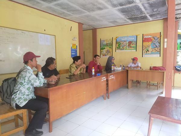 Bahas Daftar Pemilih Sementara, Panitia Pilkades MAERO Lakukan Rapat Bersama Bakal Calon Kepala Desa