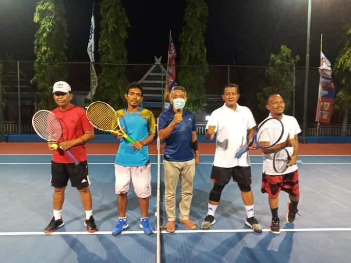 Tim BPD Sulselbar Cabang Jeneponto Sabet Juara 1 Lawn Tenis