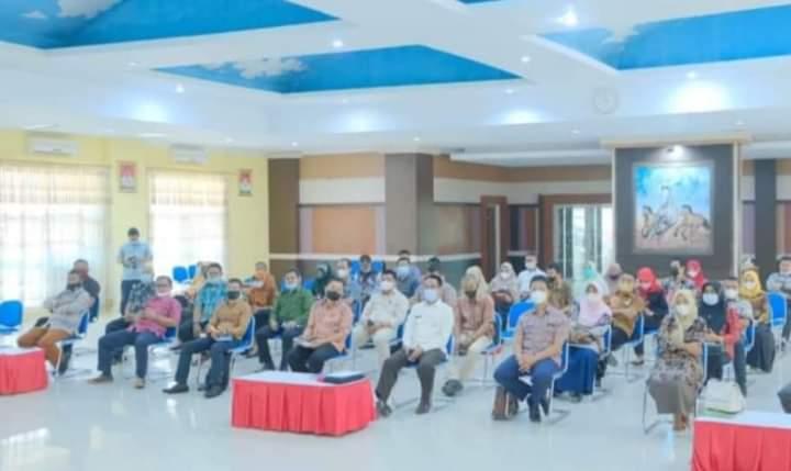 Wabup Jeneponto Buka Acara Monitoring Pelaksanaan PUG Tahun 2021