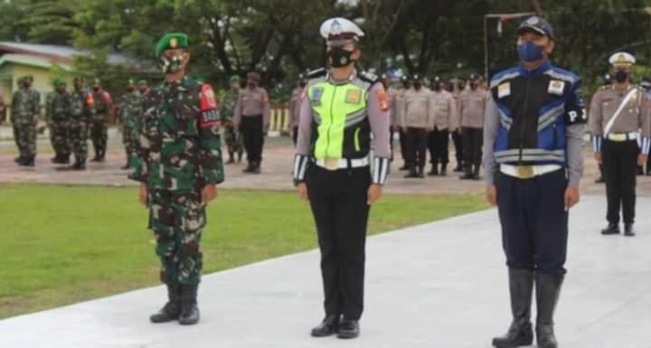 Kapolres Jeneponto Pimpin Apel Gelar Pasukan Operasi Patuh 2021