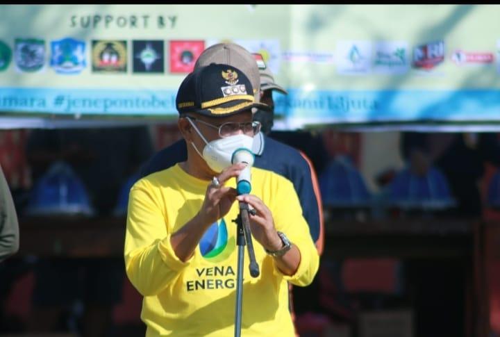 Peringati WCD 2021, Pemkab Jeneponto Bersama 22.000 Relawan Keroyok Sampah