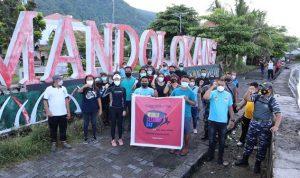 Mandolokang dan Tagulandang Pusat Bersih-Bersih World Clean Up Day Sitaro
