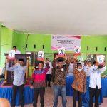 Usai Pencabutan Nomor Urut, Lima Kandidat Calon Kepala Desa Barana Paparkan Visi Misinya