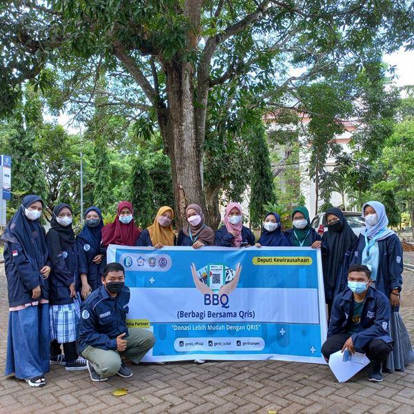 Permudah Beramal, GenBI Komisariat UIN Alauddin Makassar adakan Sosialisasi QRIS di Beberapa Masjid dan Panti Asuhan