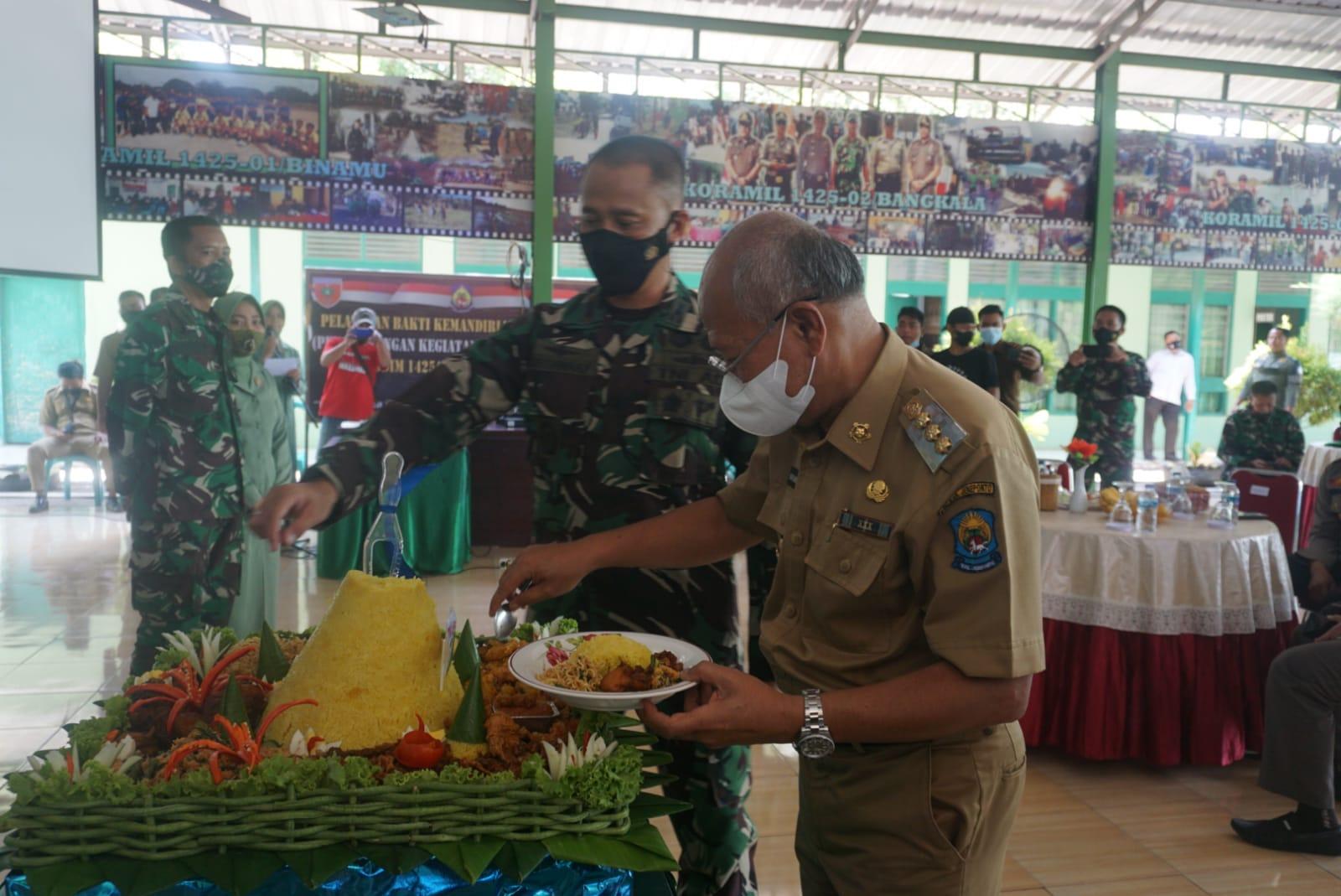 Hadiri Acara Syukuran HUT Ke-76 TNI, Ini Harapan Bupati Jeneponto